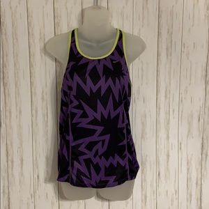 Size S Nike Dry Fit Purple and Black Tank